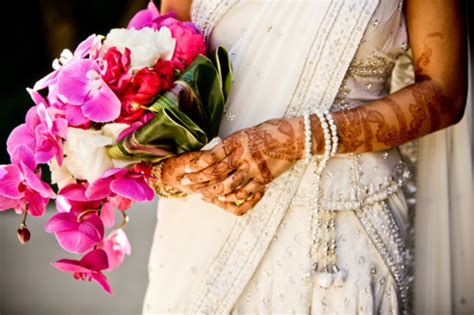 wedding bouquet india indian wedding summer color palette 2012 171 marigold events