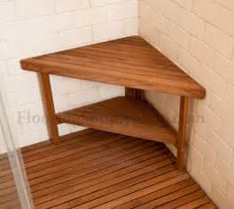 teak corner bench small by flooringsupplyshop