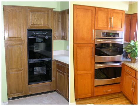 all you must know about cabinet refacing decoholic refacing kitchen cabinets before and after images home