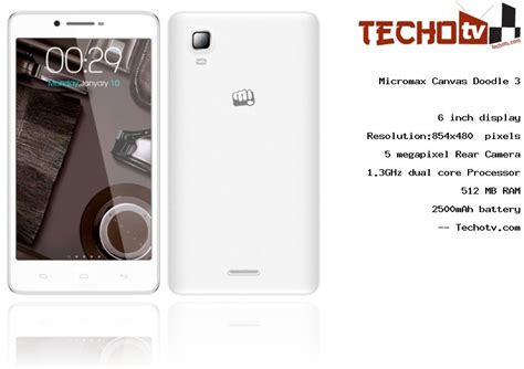 doodle 3 price in india buy micromax a102 canvas doodle 3 with price in