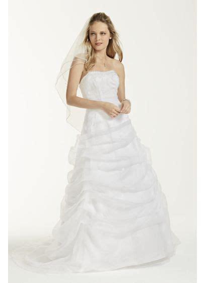 draped wedding dress organza draped wedding dress with beaded lace david s bridal