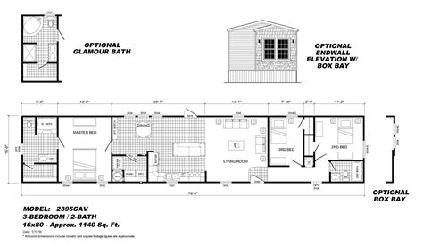mobile home floor plans 16x80 mobile homes ideas