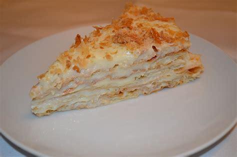 russischer napoleon kuchen rezept torte napoleon russisches rezept kinder bueno torte
