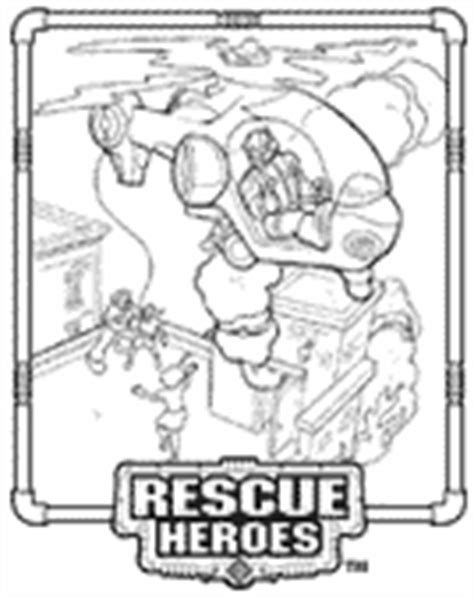 print out your own rescue heroes coloring pages