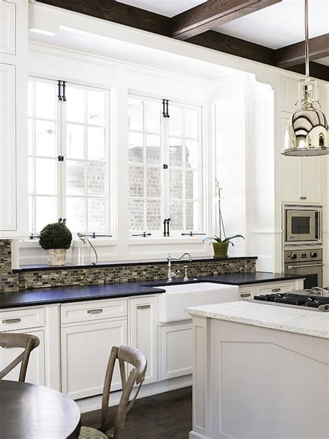 sherwin williams alabaster cabinets french windows transitional kitchen sherwin williams