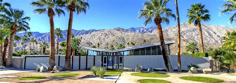 palm springs luxury mid century modern homes for sale