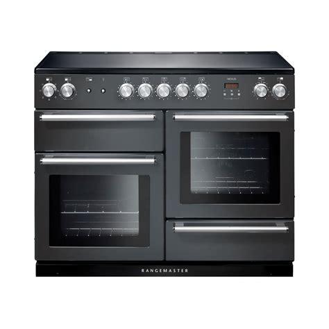 induction hob grey rangemaster nex110eisl c nexus 110 induction range cooker in slate grey