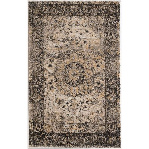 2 x 3 accent rugs tayse rugs winslow gray 2 ft x 3 ft area rug wns1309 2x3 the home depot