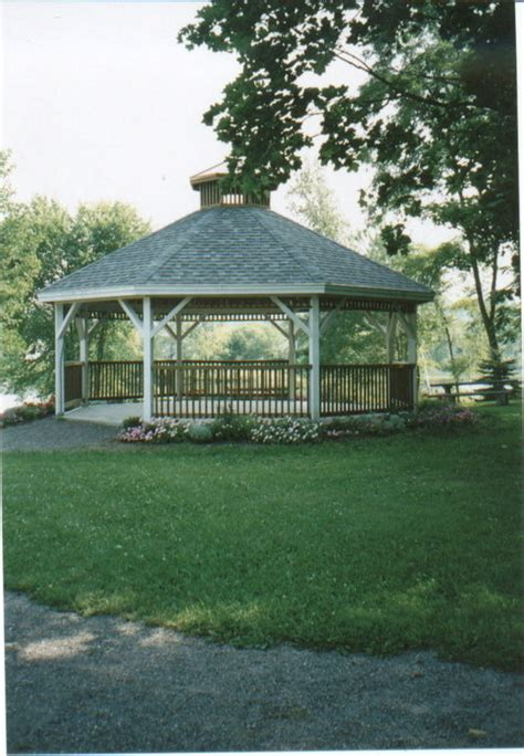 small park near me milo me recently built gazebo at small park near sebec river photo picture image