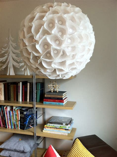 Diy Paper Chandelier Anthropologie House Home Hacks 2016 Arsenic Place