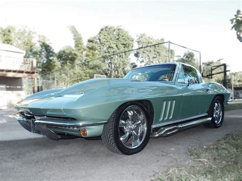 corvette stingray green 1966 chevrolet corvette stingray green miami
