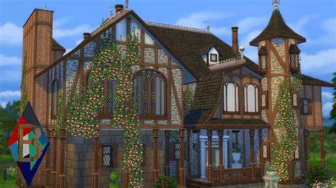 Enchanted Castle the sims 4 house building enchanted castle 1 2