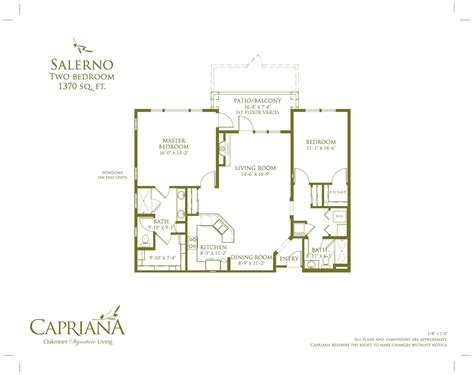 casita floor plan casita floor plans oakmont of capriana