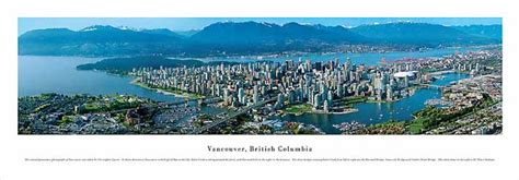 vancouver british columbia canada city day aerial skyline