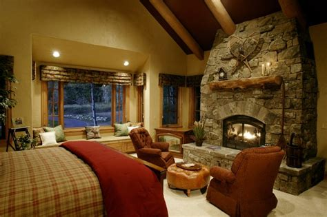 storm mountain ranch house rustic bedroom denver