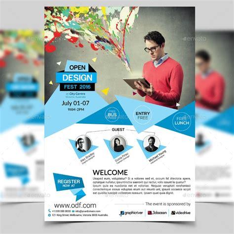 32 Conference Flyer Designs Psd Download Design Trends Premium Psd Vector Downloads Conference Flyer Template