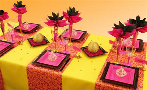 Decoration Orientale Pour Table by Decoration De Table Mariage Decoration Mariage Astuces