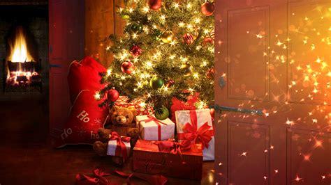christmas tree  presents wallpapers christmas tree  presents stock