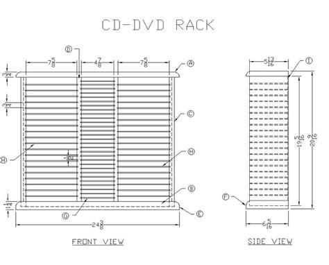 Cd Shelf Plans pdf diy dvd rack plans dimensions easy wood