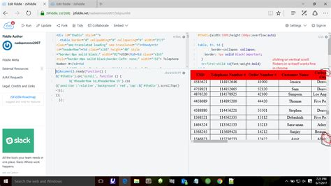 jquery ui layout fixed header javascript fixed header table on scroll using jquery