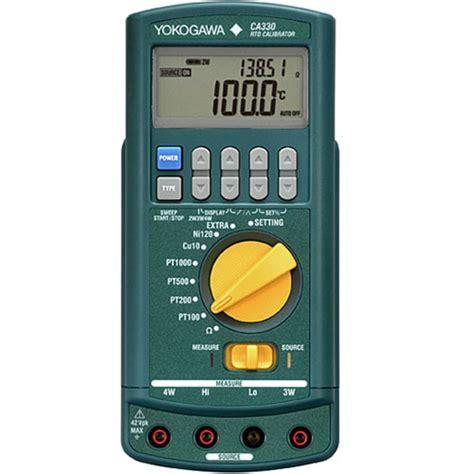 Termometer Paling Murah jual kalibrator rtd yokogawa ca330 harga paling murah di indonesia