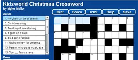 usa today crossword oct 1 christmas crossword puzzle