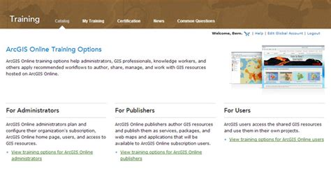 online tutorial for arcgis arcgis online training options arcgis blog