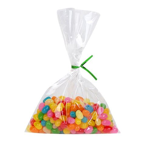diy wedding favor bags with a twist 100pcs transparent clear plastic bag cookies diy gift bag for wedding birthday