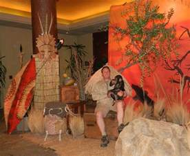 theme props for rent for a safari theme