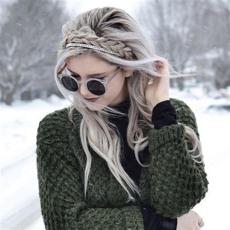 cute  comfortable braided headband hairstyles
