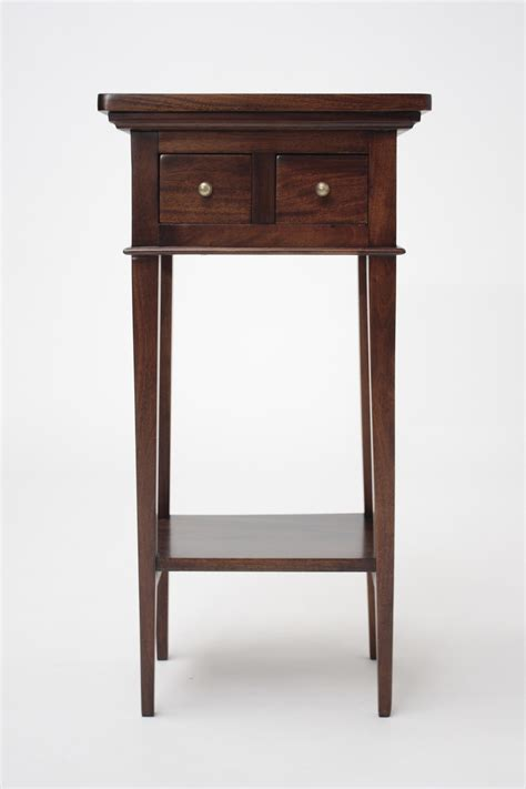 Small Side Desk Small Federation End Table Carved Mahogany Corner Tables Solid Mahogany L Tables