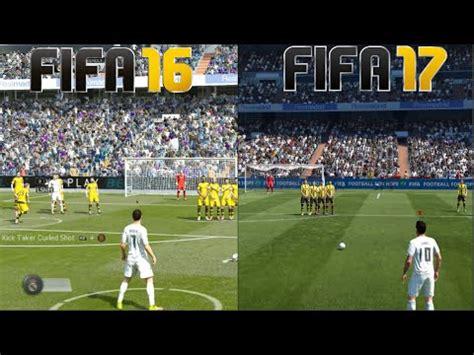 One Graphic 17 fifa 17 vs fifa 16 gameplay and graphics comparison xbox