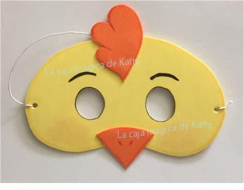 como hacer mascaras de pollitos con platos de papel como hacer un antifaz de gallo pinterest the world s