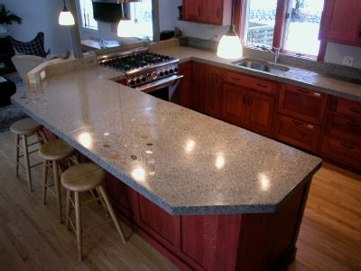 polished concrete bar top concrete countertops learn about building polishing