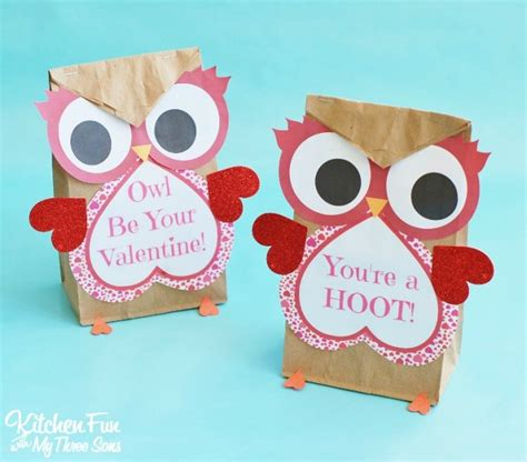 An Owl Papercraft At Bandung Car Free Day Canon Ae 1 - valentines bags ideas owl crafts easy treat bag 1 best