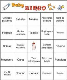 baby shower bingo regalos lista de palabras baby shower