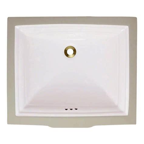 polaris sinks dualmount bathroom sink in bronze p159 the