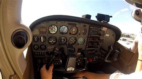 Normal Landing Of Cessna 172 zero g in a cessna 172 with normal take and