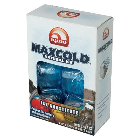 Maxcold Substitute Nature Igloo Gel Pendingin igloo maxcold cooler 2 pack lunch target