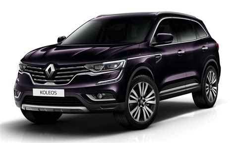 koleos renault 2018 2018 renault koleos initiale launches in uk