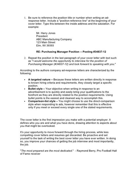 Cover Letter Advice by Cover Letter Advice Project Scope Template