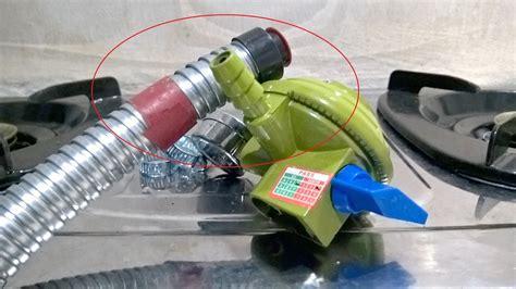 Regulator Kompor Gas Vaganza cara memasang selang dan regulator pada kompor gas