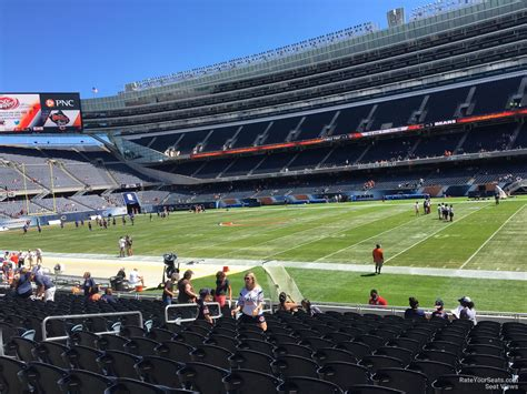 section 132 f soldier field section 132 chicago bears rateyourseats com