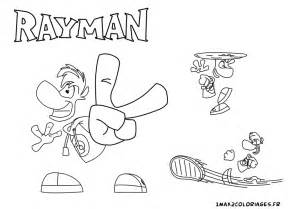 coloriage rayman l 233 gend personnages rayman en action a