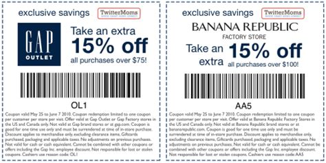 printable coupons gap outlet usa gap outlet printable coupons december 2014