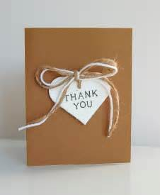 rustic diy thank you cards northstory