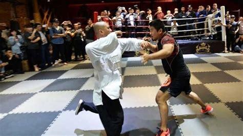 mma si鑒e mestre de kung fu 233 derrotado em 10s por lutador de mma e
