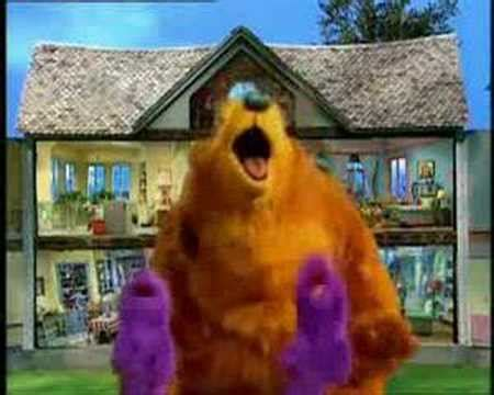 the big blue house bear in the big blue house intro youtube