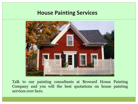house painting services ppt house painting services powerpoint presentation id