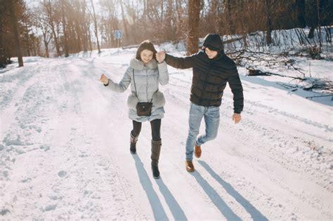 imagenes gratis invierno pareja en invierno descargar fotos gratis